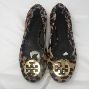 Tory Burch cheetah print flats